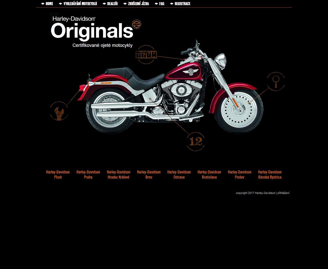 h-d-originals.cz zobrazení pro PC